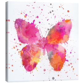 Toile  Artsy Butterfly - Andrea Haase