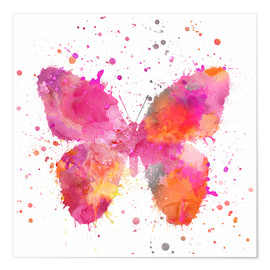 Poster  Artsy Butterfly - Andrea Haase