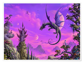 Poster  The Dragon Kingdom - Susann H.