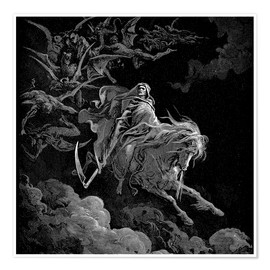 Poster  Death on a Pale Horse - Gustave Doré