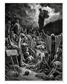 Gustave Doré - The Vision of The Valley of The Dry Bones