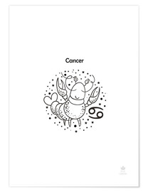 Poster  Cancer - Petit Griffin