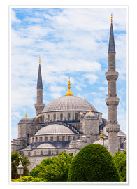 Poster  Blue Mosque Istanbul - Jan Schuler