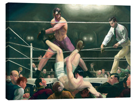 Tableau sur toile  Dempsey and Firpo - George Wesley Bellows