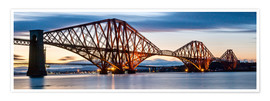 Poster  Forth Bridge, Edinburgh, Scotland - Markus Ulrich
