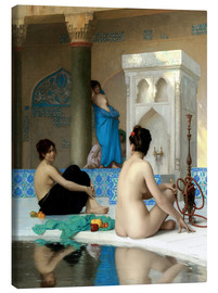Toile  After the bath - Jean Leon Gerome