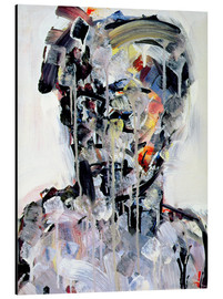 Tableau en aluminium  David Bowie, 1994 - Stephen Finer