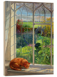 Bois  Cat in the Window, Summer - Timothy Easton
