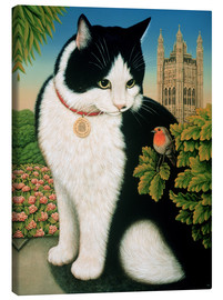 Toile  Humphrey, the cat - Frances Broomfield