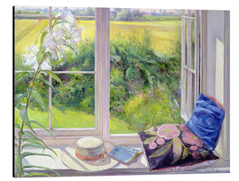 Tableau en aluminium  Reading window seat - Timothy Easton