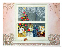 Poster  The Christmas-Mouse - Ditz