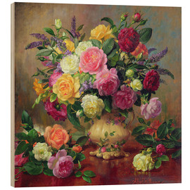 Bois  Roses from a Victorian Garden - Albert Williams