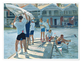 Poster  Preparation for rowing - Timothy Easton