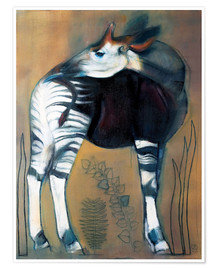 Poster  Okapi - Mark Adlington