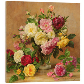Bois  Old Fashioned Victorian Roses - Albert Williams