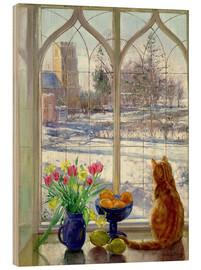 Bois  Snow Shadows and Cat - Timothy Easton