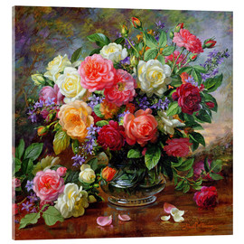 Verre acrylique  Roses - The Perfection of Summer - Albert Williams