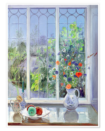 Poster  Still life in the window - Timothy Easton