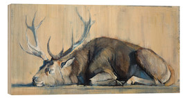 Bois  Reclining Hirsch - Mark Adlington
