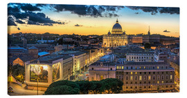 Toile  Roma St. Peters dome - Fine Art Images