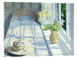 Verre acrylique  Still life in front of the window - Timothy Easton