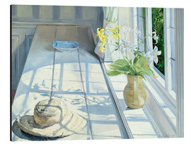 Tableau en aluminium  Still life in front of the window - Timothy Easton