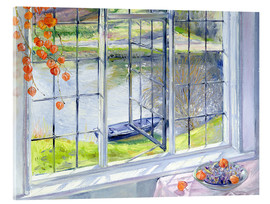 Verre acrylique  View of the boat - Timothy Easton