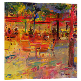 Verre acrylique  Lunch on the Terrace - Peter Graham