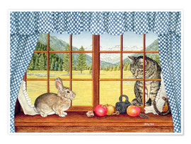Poster  Rimrock Cottontail - Ditz