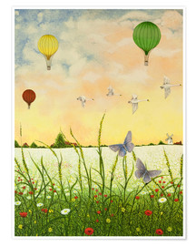 Poster  Balloon Panorama - Pat Scott
