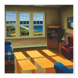 Poster  Appartement au bord de la mer - David Arsenault