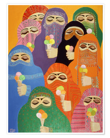 Poster  The Impossible Dream, 1988 - Laila Shawa