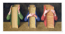 Poster  Three Wise Books, 2005 - Jonathan Wolstenholme