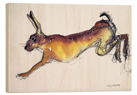Bois  Jumping Hare - Lucy Willis