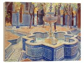 Lucy Willis - The blue fountain