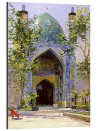 Tableau en aluminium  Chanbagh Madrasses, Isfahan - Bob Brown