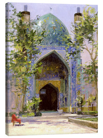 Tableau sur toile  Chanbagh Madrasses, Isfahan - Bob Brown