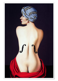 Poster Homage to Man Ray