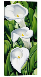 Toile  Lily - Catherine Abel