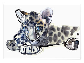 Poster  Little Leopard - Mark Adlington