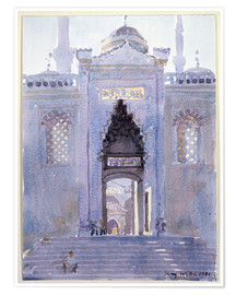 Poster  Gateway to The Blue Mosque - Lucy Willis