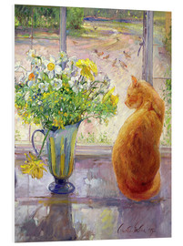 Forex  Cat with Flowers in the window - Timothy Easton