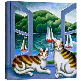 Toile  Bonny and Clyde - Jerzy Marek