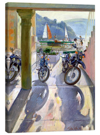 Toile  Wheels and Sails - Timothy Easton