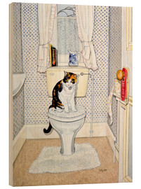 Bois  Cat on the Loo - Ditz