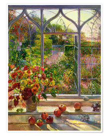 Poster  Overlooking the autumn - Timothy Easton