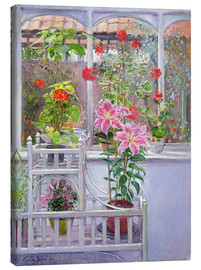 Tableau sur toile  In the winter garden - Timothy Easton