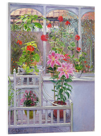 Tableau en PVC  In the winter garden - Timothy Easton