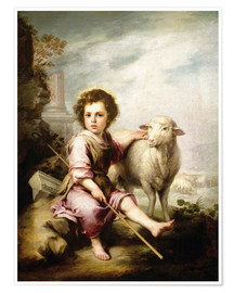 Bartolome Esteban Murillo - The Good Shepherd