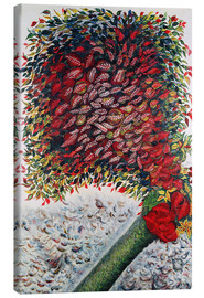 Toile  The Red Tree - Seraphine Louis